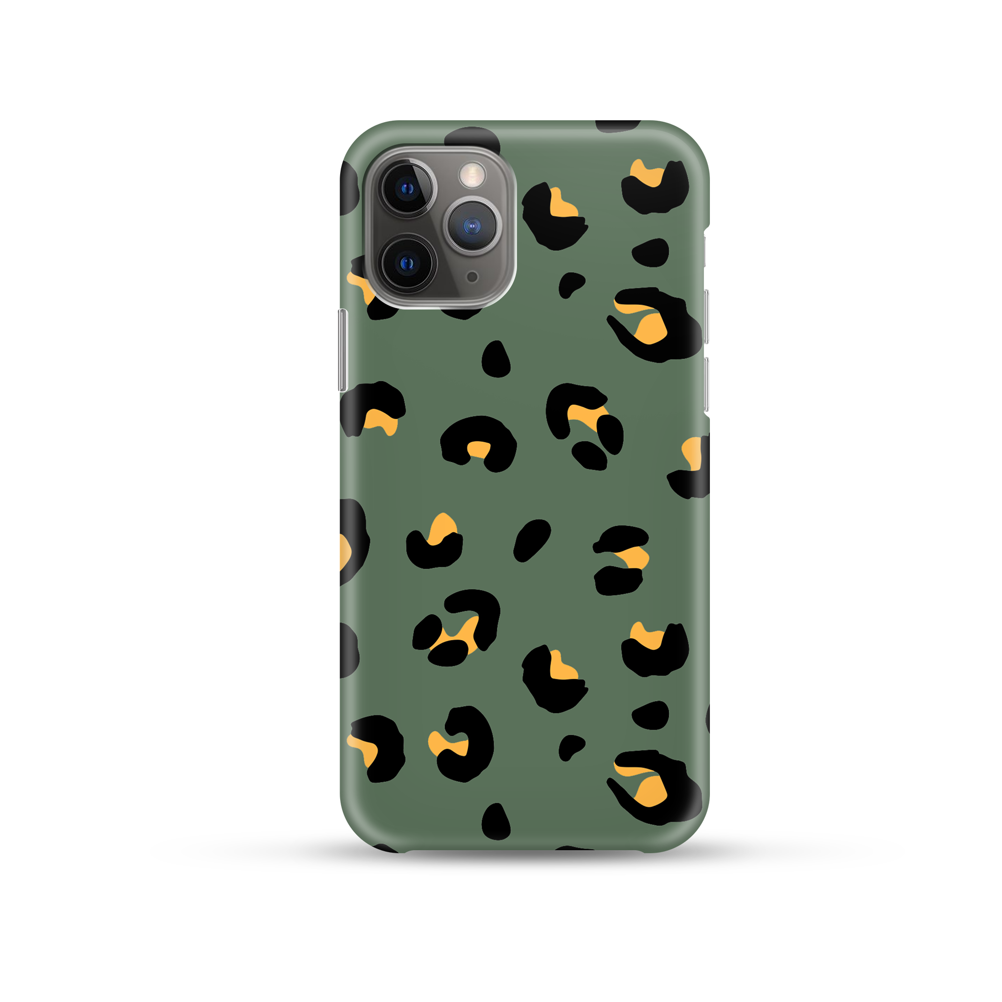 Khaki Leopard Phone Case by Coconut Lane
