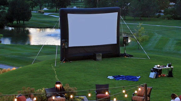outdoor movie inflatable screen outdoor cinema