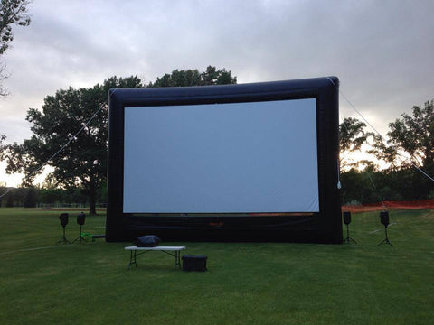 OUTDOOR INFLATABLE SCREEN OUTDOOR CINEMA
