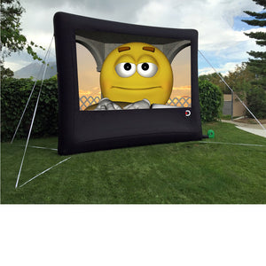 Elite Outdoor Movies Home 13' Inflatable Screen