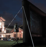 Elite Outdoor Movies 17' Professional Outdoor Cinema System