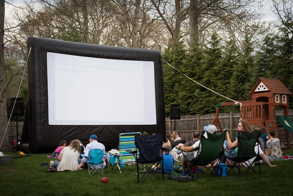 Elite Outdoor Movies 13' Professional Outdoor Cinema System