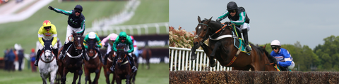 Unbeaten in five hurdle races including the Sharp Novices' Hurdle and Supreme Novices' Hurdle, as well as multiple top steeplechases including the Henry VIII Novices' Chase, Wayward Lad Novices' Chase, Game Spirit Chase, Clarence House Chase, Desert Ochid Chase, Arkle Challenge Trophy, Tingle Creek Chase, Queen Mother Champion Chase and the Celebration Chase. Ladies and gentlemen.... Altior