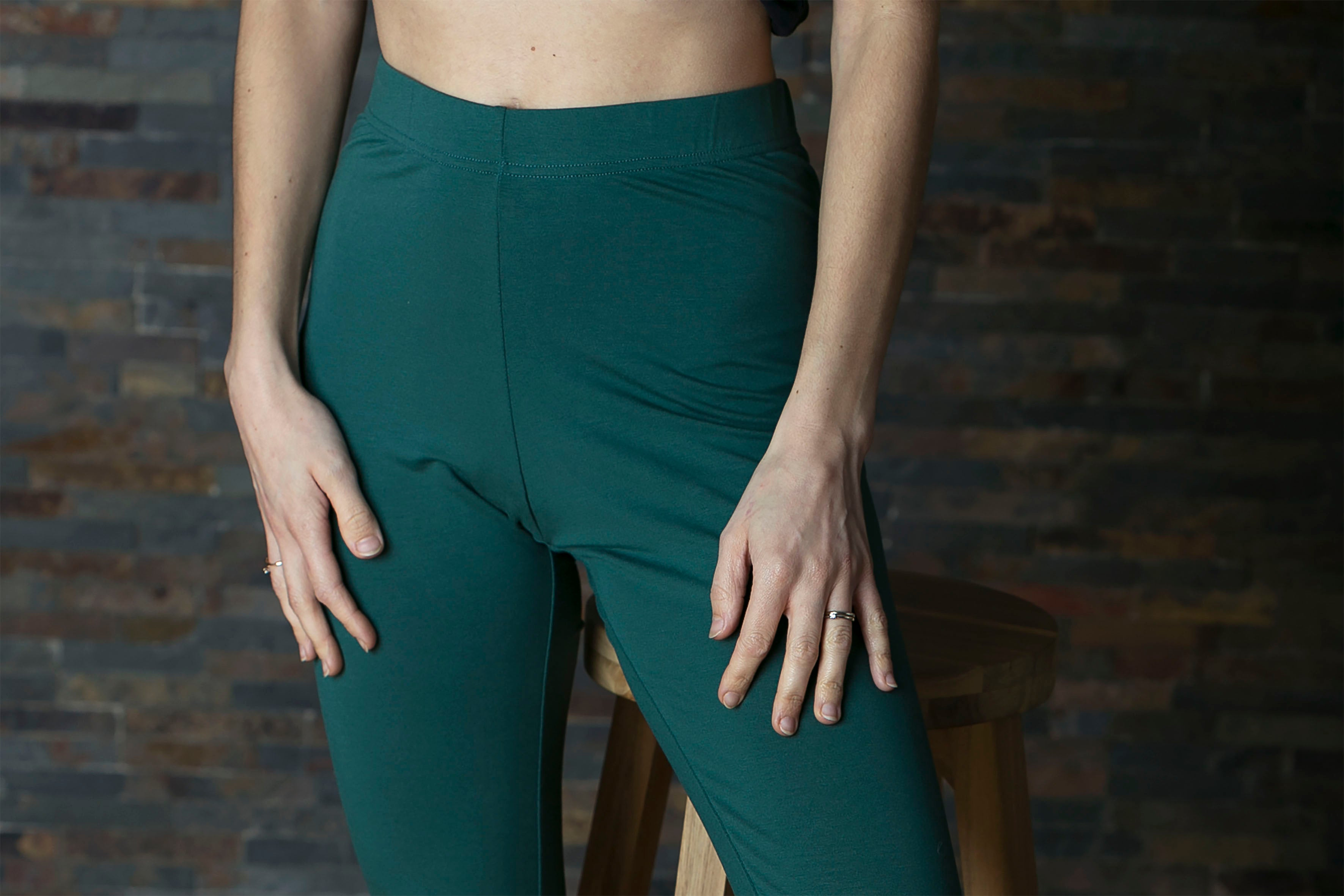 Legging - bottle green
