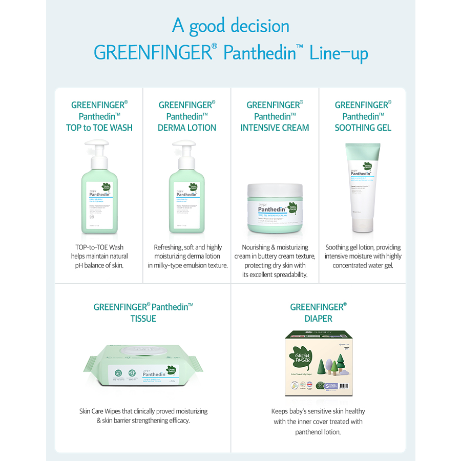 Baby shop Greenfinger Panthedin Baby lotion 200ml korean Products