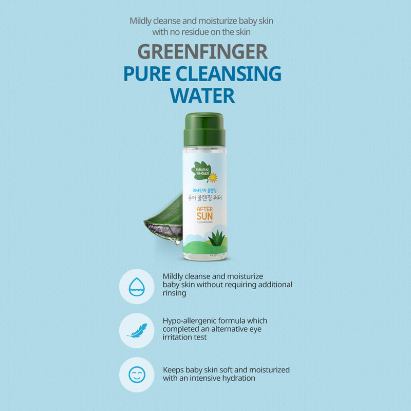 Greenfinger  Pure Cleansing Water 200ml