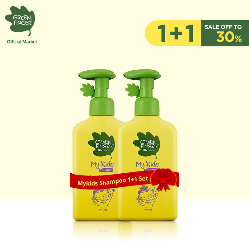 Greenfinger Combo Mykids Shampoo For Baby 320ml*2