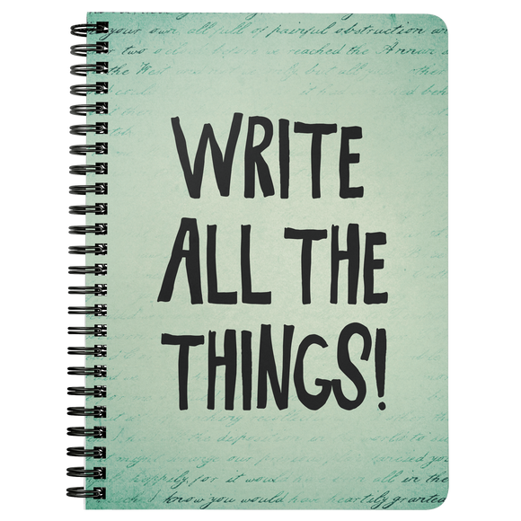 Write All the Things! Notebook