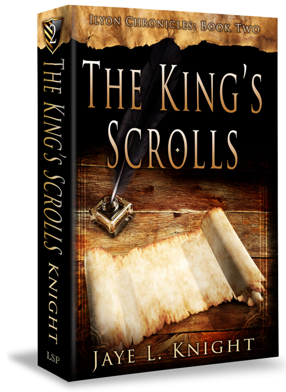 The King's Scrolls - Book 2 Autographed