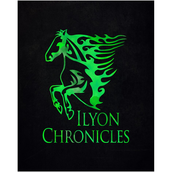 Green Horse Ilyon Chronicles Poster