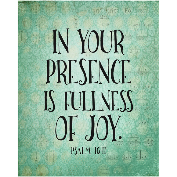 Fullness Of Joy Poster