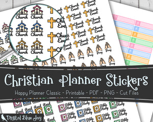 Christian Printable Stickers