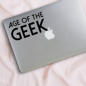 Age of the Geek Decal