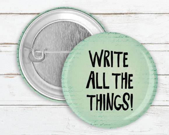 Write All The Things! Pin Button