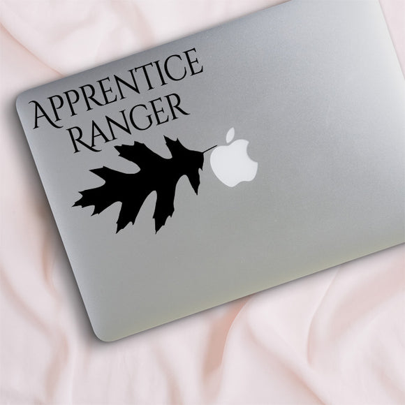Apprentice Ranger Oak Leaf Decal