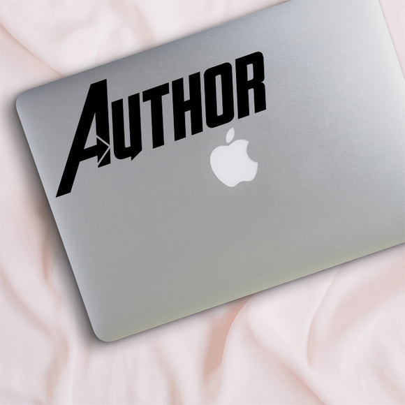 Author Avenger Writer Decal