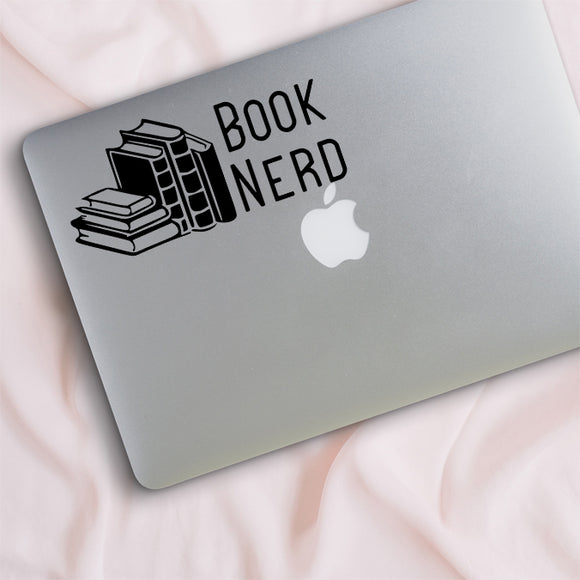 Book Nerd Decal