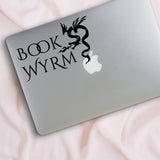 Book Wyrm Decal