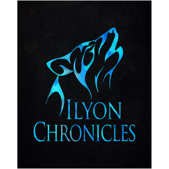 Blue Wolf Ilyon Chronicles Poster