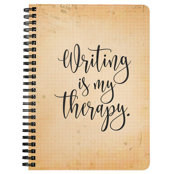 Writing is My Therapy Notebook
