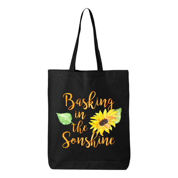 Basking In the Sonshine Canvas Tote Bag