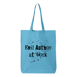Evil Author At Work Canvas Tote Bag