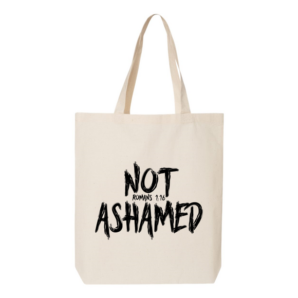 Not Ashamed Canvas Tote Bag