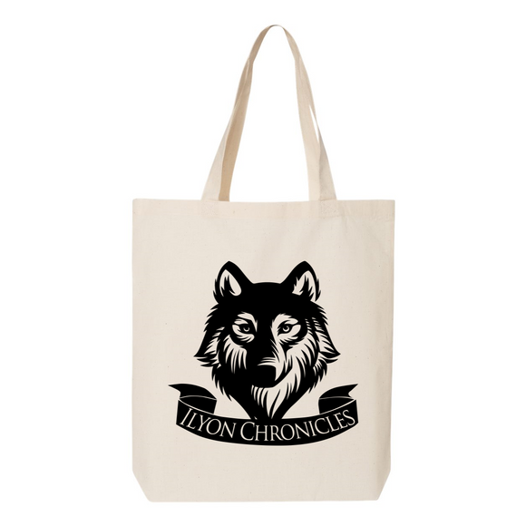 Wolf Ilyon Chronicles Canvas Tote