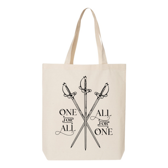 The Three Musketeers Canvas Tote Bag