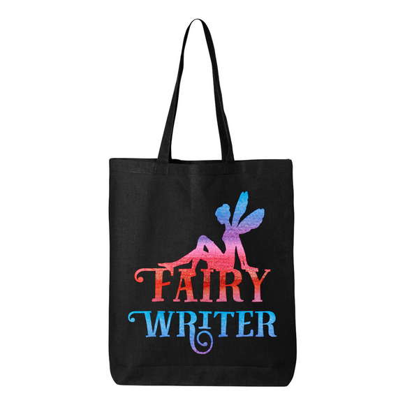Fairy Writer Canvas Tote Bag