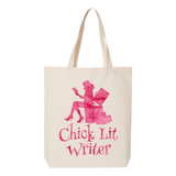 Chick Lit Writer Canvas Tote Bag