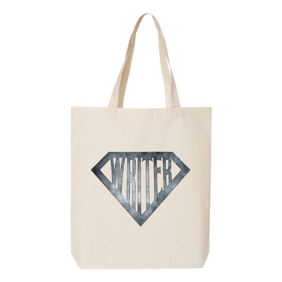 Super Writer Canvas Tote Bag