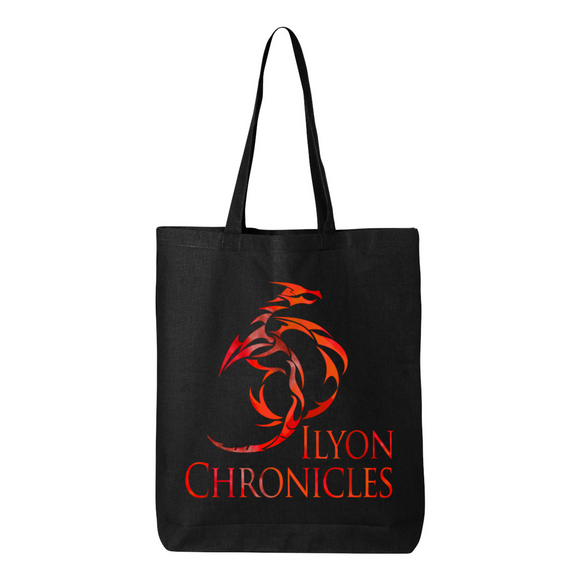 Red Dragon Ilyon Chronicles Canvas Tote