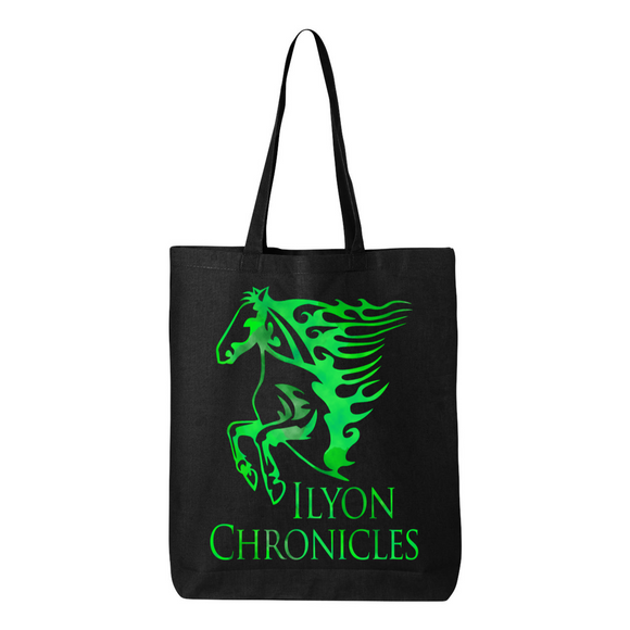 Green Horse Ilyon Chronicles Canvas Tote
