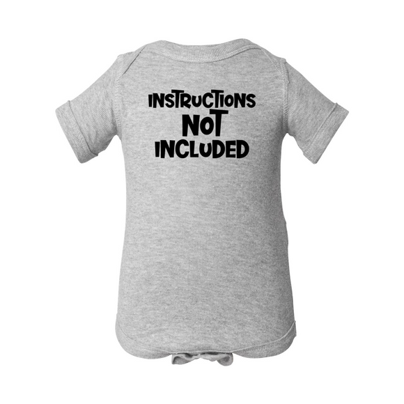 Instructions Not Included Onesie