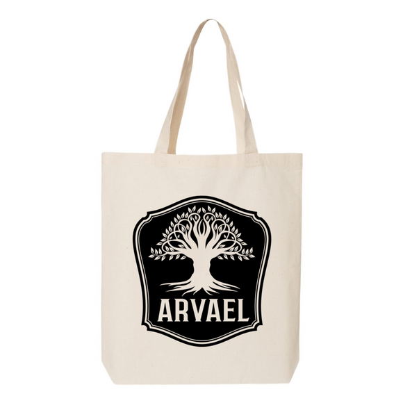 Arvael Ilyon Chronicles Canvas Tote