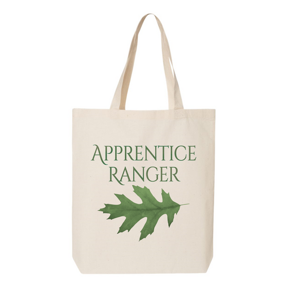 Apprentice Ranger Oak Leaf Canvas Tote Bag