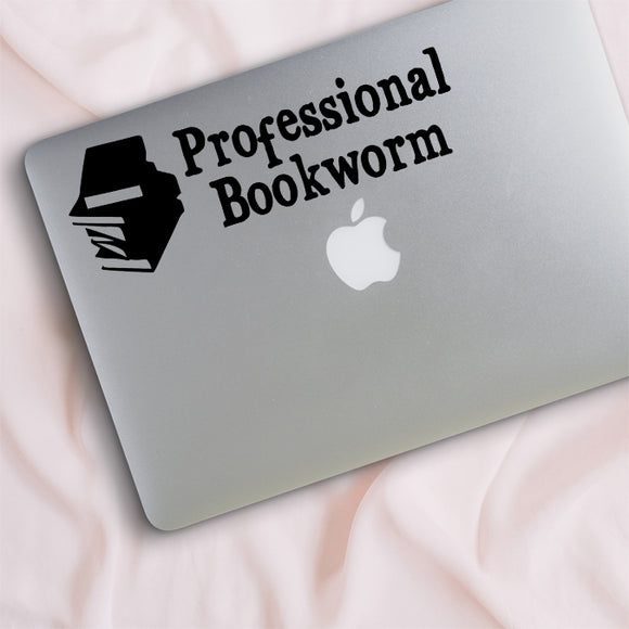 Professional Bookworm Decal