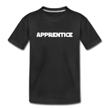 Apprentice Toddler Shirt - black