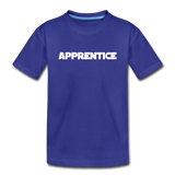 Apprentice Toddler Shirt - royal blue