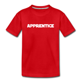 Apprentice Toddler Shirt - red