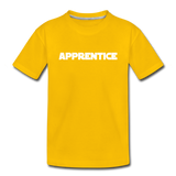 Apprentice Toddler Shirt - sun yellow