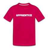 Apprentice Toddler Shirt - dark pink