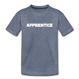 Apprentice Toddler Shirt - heather blue