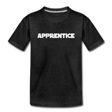Apprentice Toddler Shirt - charcoal gray