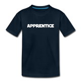 Apprentice Toddler Shirt - deep navy