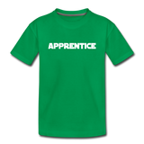 Apprentice Toddler Shirt - kelly green