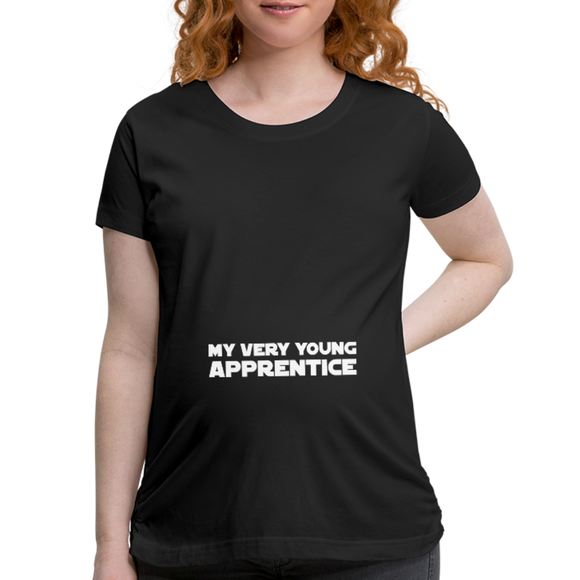 My Very Young Apprentice Maternity Shirt - black