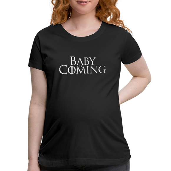 Women's Maternity T-Shirt - black