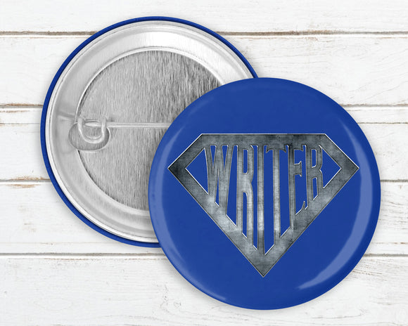 Super Writer Pin Button